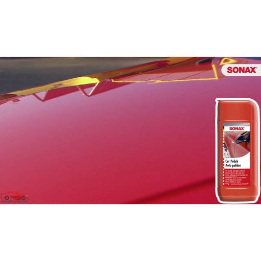 Dung dịch đánh bóng sơn xe, làm sáng như mới bề mặt sơn Sonax Car polish 300100 - phongson.com
