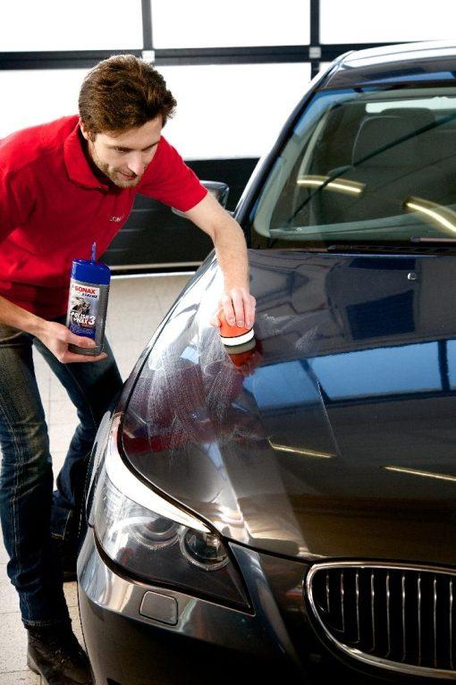 Dung dịch đánh bóng sơn xe Sonax Xtreme polish Wax 3 - phongson.com