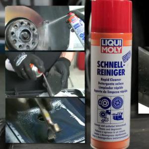 Vệ sinh dầu mỡ Liqui Moly Rapid Cleaner | Rửa dầu mỡ Liqui Moly