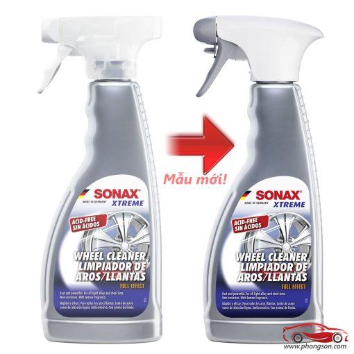 vệ sinh vành mâm Sonax Xtreme Wheel cleaner PLUS - phongson.com