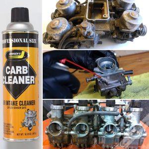 Súc rửa vệ sinh bình xăng con Johnsen's Carb Cleaner
