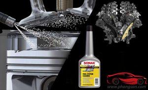 Làm sạch hệ thống xăng Sonax Fuel System Cleaner - phongson.com