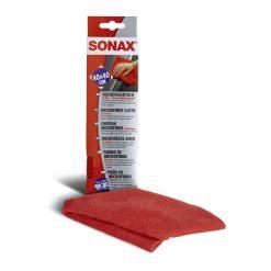 Khăn siêu sợi Sonax Microfiber mềm mịn, lau rửa an toàn, không làm trầy xước bề mặt lau