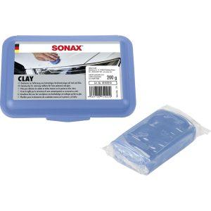 Đất sét tẩy bụi sơn Sonax Clay blue - phongson.com