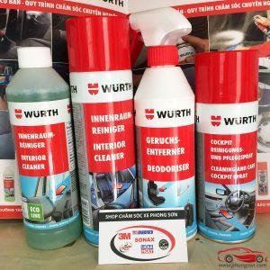 Chăm sóc nội thất xe hơi Wurth - phongson.com