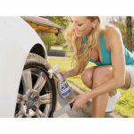 Cọ vệ sinh vành mâm xe Sonax Wheel rim brush ultra-soft