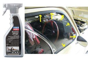Bảo dưỡng cao su ron cửa ô tô Liqui Moly Rubber Care