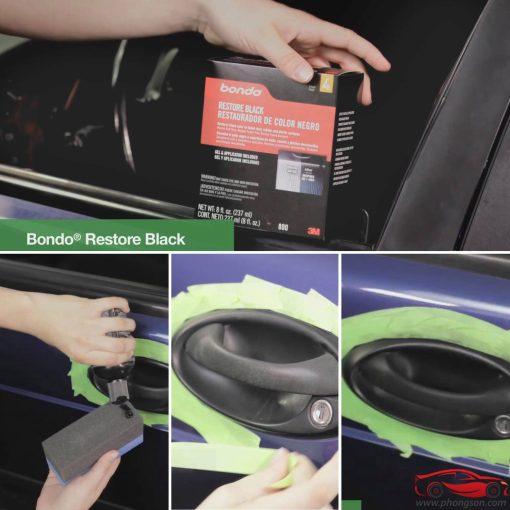 Dung dịch phục hồi nhựa đen 3M Bondo Restore Black - phongson.com