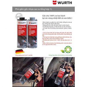 Súng phun phủ gầm Wurth Underbody Protection Gun 08911060