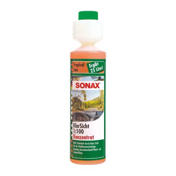 Nước rửa kính Sonax Clear View 1:100 Tropical Sun 387141 250ml - phongson.com