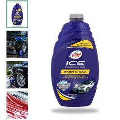 Nước rửa xe bóng sơn Turtle Wax Ice Wash & Wax 1.42L - phongson.com