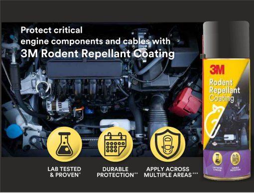 Chai xịt chống chuột 3M Rodent Repellant Coating 250g