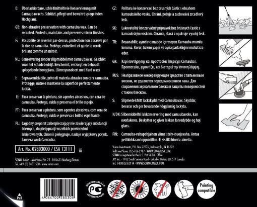 Sáp đánh bóng bảo vệ sơn Sonax Profiline HW 02-04 280300 1L