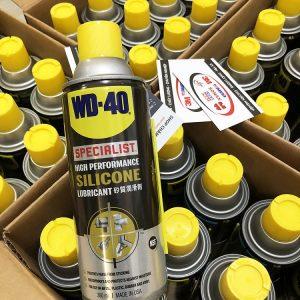 Chai Xịt Silicon Bảo Dưỡng Bôi Trơn Đa Năng WD-40 Silicone Lubricant 360ml