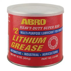 Mỡ Bò Đỏ Abro Abro Heavy-Duty Super Red Lithium Grease LG-920 454g