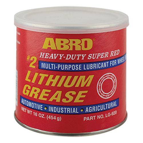 Mỡ Bò Đỏ Abro Abro Heavy-Duty Super Red Lithium Grease LG-920 454g