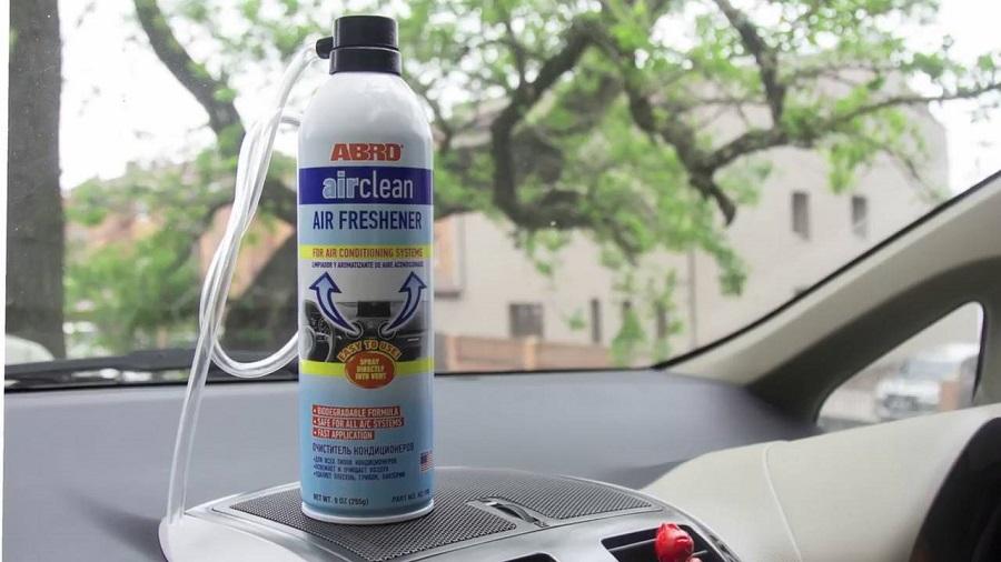 Vệ sinh điều hòa ô tô Abro Air Clean Air Freshener & Hygiene Aid 255g