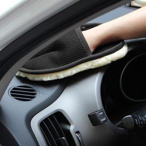 Bao tay rửa xe sợi tổng hợp CN002 (15cm24cm)