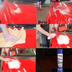 Đánh bóng sơn ô tô Sonax 241300 Xtreme Spray Polish (dạng bọt)
