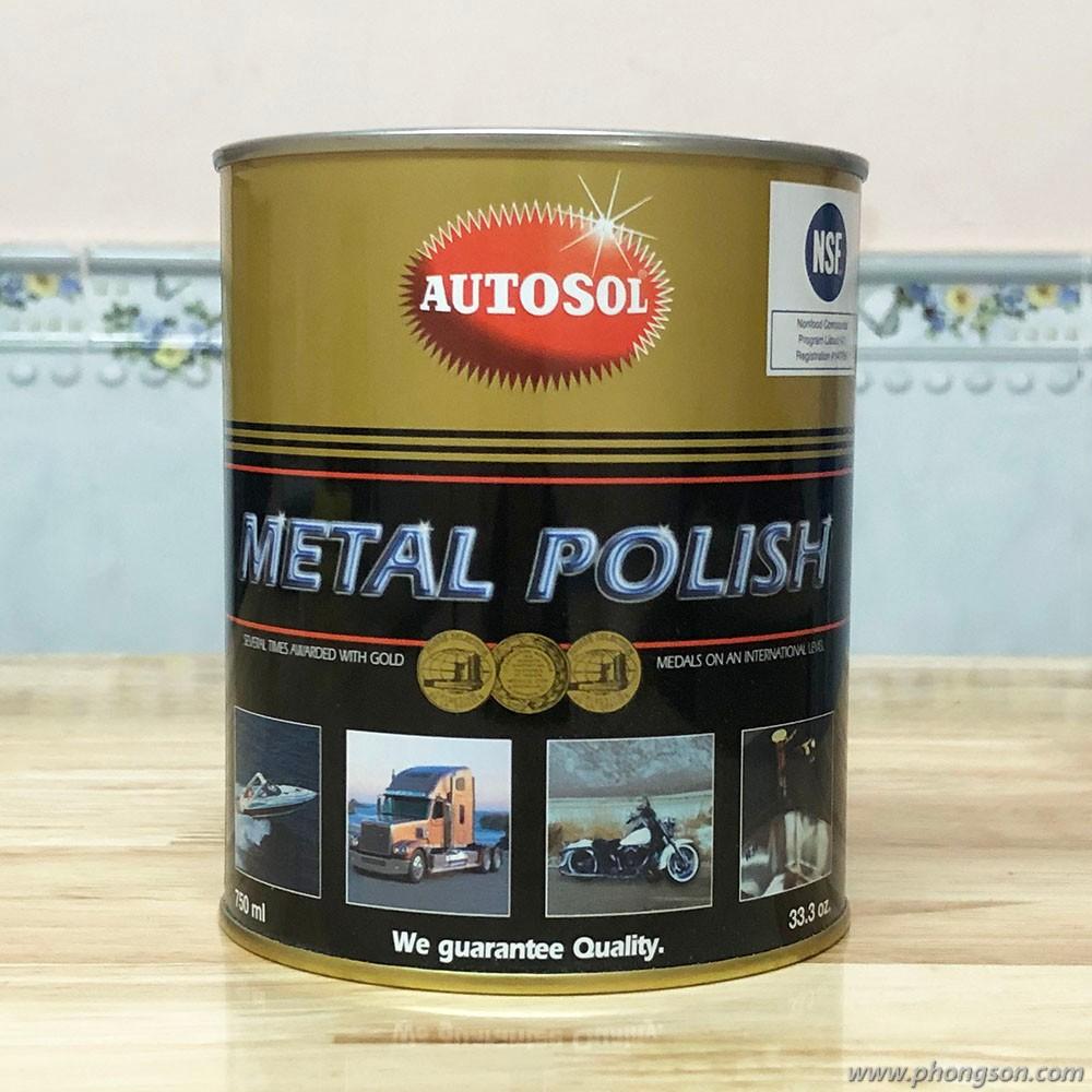 Chất đánh bóng kim loại Autosol Metal Polish 750ml