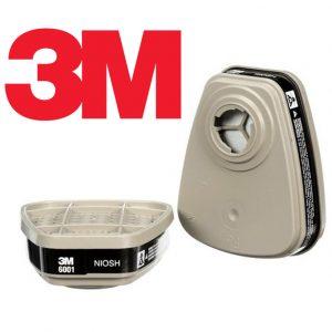 Phin Lọc Hơi Hữu Cơ 3M 6001 được thiết kế để bảo vệ đường hô hấp của người sử dụng. Được sử dụng trong các môi trường làm việc như hóa dầu, sản xuất hóa chất, xây dựng,...