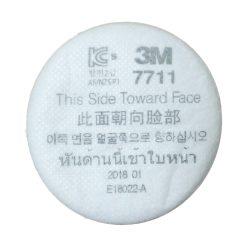 Tấm Lọc Bụi 3M7711 Dùng Cho Mặt Nạ Bảo Hộ 3M3100