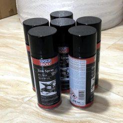 Sơn Mạ Kẽm Chịu Nhiệt Cao Liqui Moly Zinc Spray 400ml