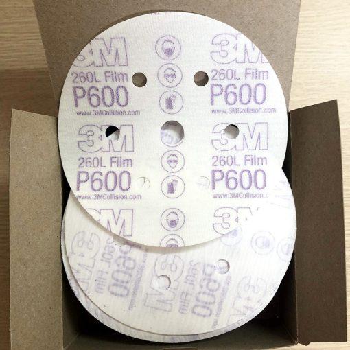 Giấy Nhám Đánh Bóng 3M00971 Độ Nhám P600 6inch 152mm