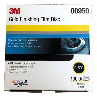 Giấy Nhám 3M Đĩa Film 6in 260L Độ Nhám P1500 (1 Hộp)