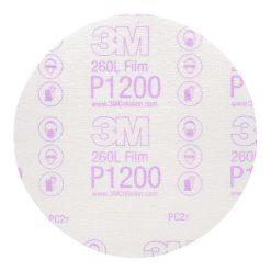 Giấy Nhám Tròn 6in 3M 260l Độ Nhám P1200