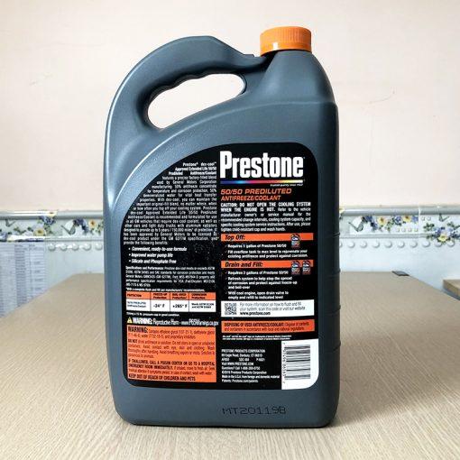 Nước Giải Nhiệt Động Cơ Prestone Dex-Cool 3.78l (Đỏ)