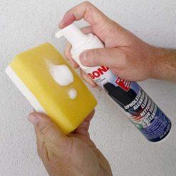 Bọt Làm Sạch Khử Mùi Vải Nỉ Trong Xe Sonax Xtreme 250ml