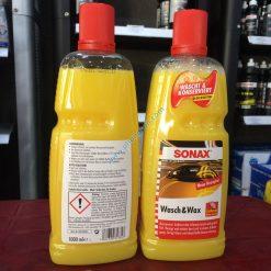 Nước rửa xe Sonax Wash & Wax 1000 ml
