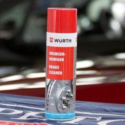 Tẩy rửa dầu mỡ Wurth Brake Cleaner 500ml
