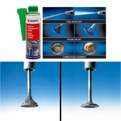 Súc béc xăng Wurth Petrol injection system cleaner - phongson.com