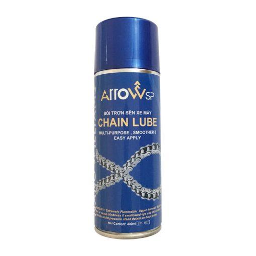 Chai bôi trơn dưỡng sên Arrow Chain Lube 400ml - phongsonn.com