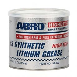 Mỡ chất bôi trơn Abro Synthetic Lithium Grease LG-990 454g