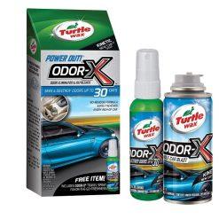 Khử Mùi Nội Thất Ô Tô Turtle Wax Power Out! Odor-X Whole Car Blast - Refresher 50653 (hộp 2 chai)