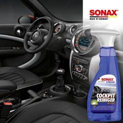 BẢO DƯỠNG NHỰA NỘI THẤT SONAX XTREME COCKPIT CLEANER 500ML