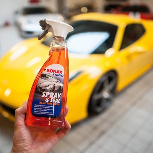 Dung Dịch Bảo Vệ Sơn Ô Tô Sonax Xtreme Spray + Seal 750ml
