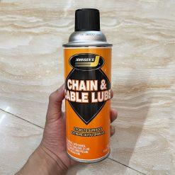 Bảo Dưỡng Xích Johnsen's Chain & Cable Lube 284g
