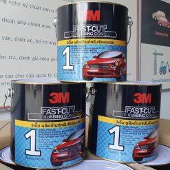 Hợp Chất Xóa Trầy Xước Sơn Xe 3M Fast-Cut 3300g